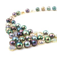 Pearl Strands Tahitian Pearl Necklace Tahitian Pearl Jewelry Luxury Pearl Jewelry