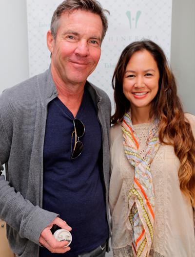 Dennis Quaid & Designer Kelly Bailey