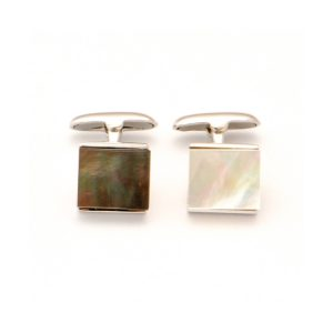 Tahitian Pearl silver Jewelry pearl cufflinks