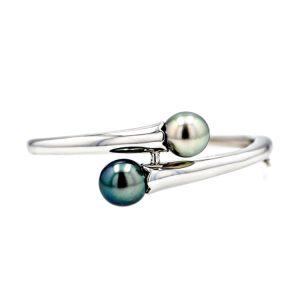 Tahitian Pearl silver Jewelry Bracelet le de perle de tahiti bijoux argent