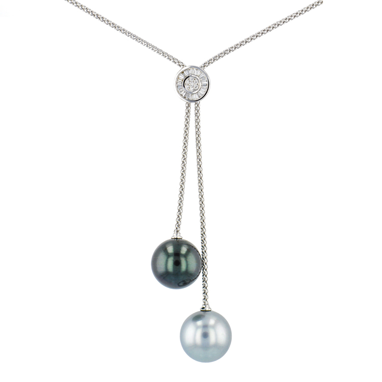 Tahitian Pearl gold Jewelry Tahitian Pearl Necklace Luxury Pearls