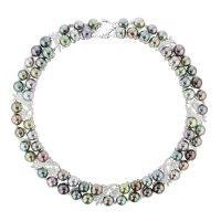 Pearl & Diamond Necklace, Diamonds, White Gold, Necklace, Tahitian Pearl, Hinerava, perles de tahiti