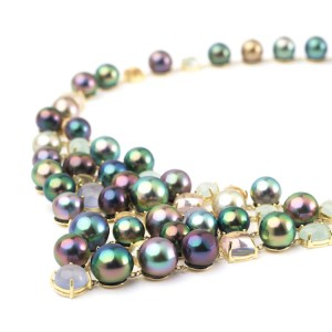 Pearl Strands Tahitian Pearl Necklace Tahitian Pearl Jewelry Luxury Pearl Jewelry
