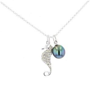 Tahitian Pearl silver Jewelry Earrings Boucle d'oreille de perle de tahiti bijoux argent