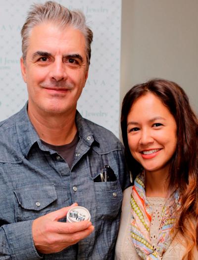 Chris Noth & Designer Kelly Bailey